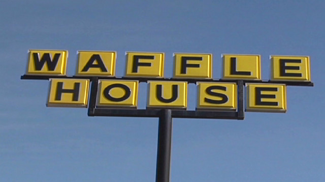 Waffle House serving Valentine's dinner