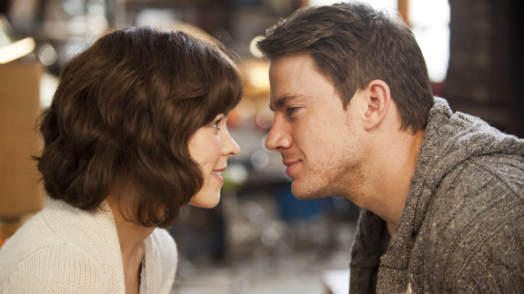 """Rachel McAdams and Channing Tatum play a husband and wife who have to rediscover each other in """"The Vow."""""""