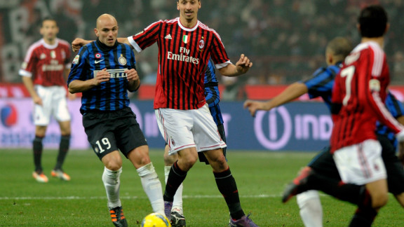 Italian city rivals AC and Inter Milan were separated by just one place on the list. Serie A champions AC were seventh, and 2010 European champions Inter eighth.