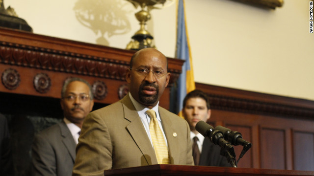 "Philadelphia Mayor Michael Nutter has been outspoken against criminals, calling them ""dogs"" and ""idiots."""
