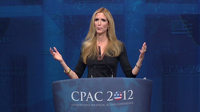 Ann Coulter shocks at CPAC