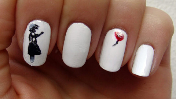 Lisa Bailey of London shares creations, tips and techniques on her website, Nail Art 101.