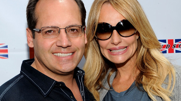 """Russell Armstrong, left, hanged himself in August 2011 while appearing on Bravo's """"Real Housewives of Beverly Hills."""" The series featured his estranged wife, Taylor, grappling with the aftermath of his suicide."""