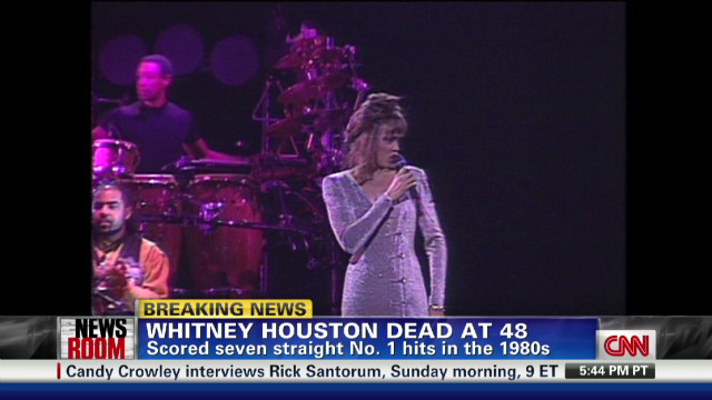 Dr. Drew reacts to Whitney Houston death