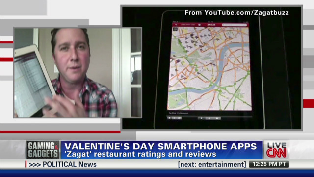 Smartphone apps for your valentine