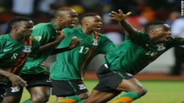 Zambia Cup victory unites country
