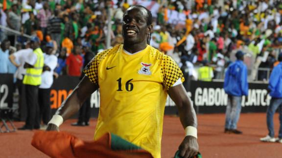 Zambia goalkeeper Kennedy Mweene was the hero on Sunday, saving Kolo Toure