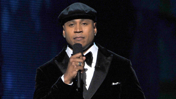"""""""Whitney, we will always love you,"""" host LL Cool J  said at the 54th annual Grammy Awards in Los Angeles."""