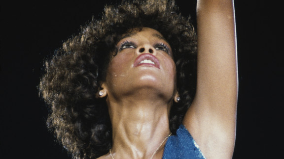 The late Whitney Houston performs in 1986, when she was at the top of her game