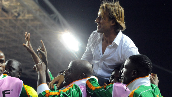 French coach Herve Renard is still in charge of the defending champions, who travel to Kampala to play Uganda on Saturday, holding a 1-0 first-leg lead. This is Renards' second spell as Zambia coach, with the 44-year-old having also been with the team between 2008 and 2010.
