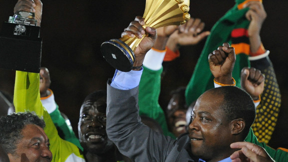 It was a poignant win for Zambia, who lost 18 members of their squad in a plane crash in Gabon in 1993.