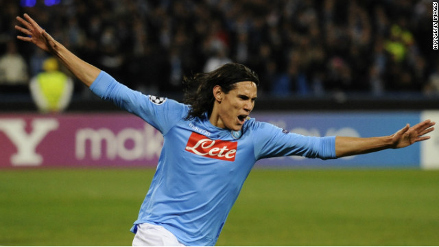 Edinson Cavani's penalty sealed Napoli's first win in Italy's Serie A since January 8.