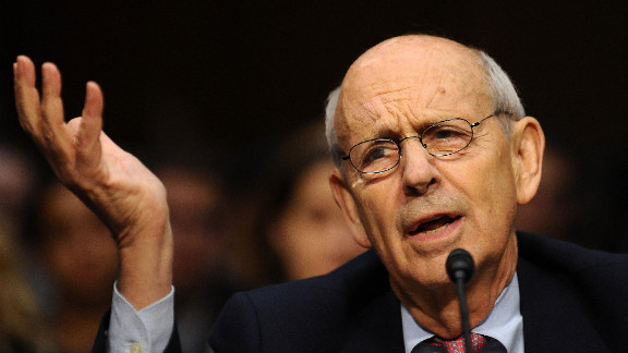 Supreme Court Justice Stephen Breyer was robbed last week at his vacation home on the Caribbean island of Nevis.