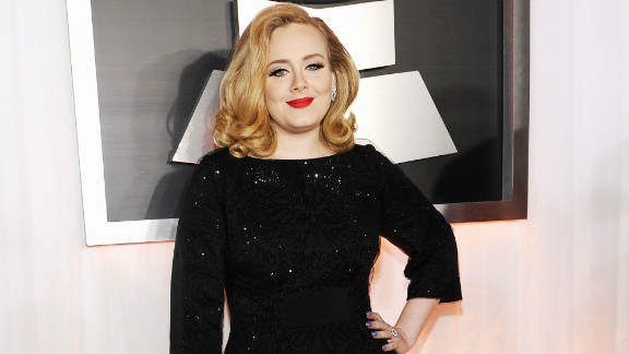 Adele, seen here on the red carpet at last year's Grammy Awards, is set to perform at the Oscars.