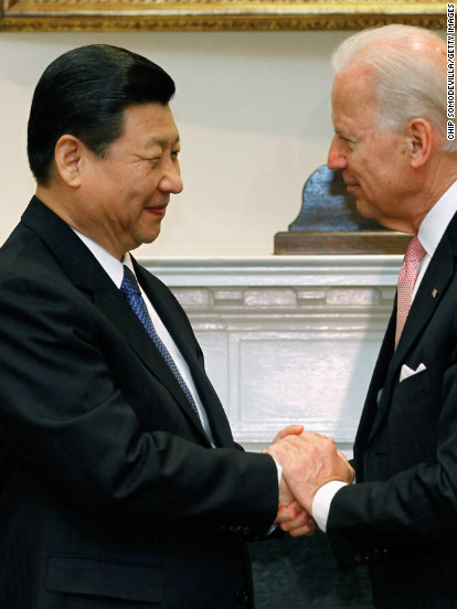 Glad-handing Biden's foreign diplomacy blitz begins -- over the phone
