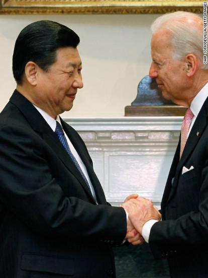 Glad-handing Biden's foreign diplomacy blitz begins -- over the phone