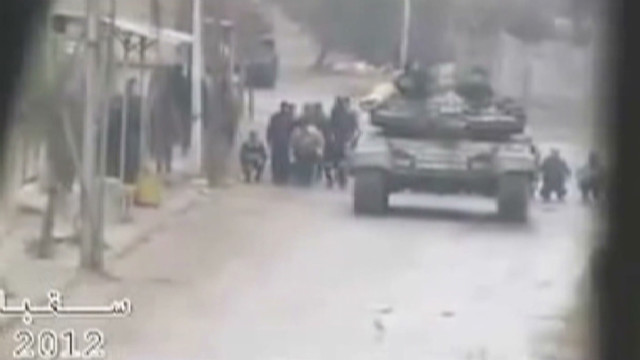 Reports: Syria using human shields