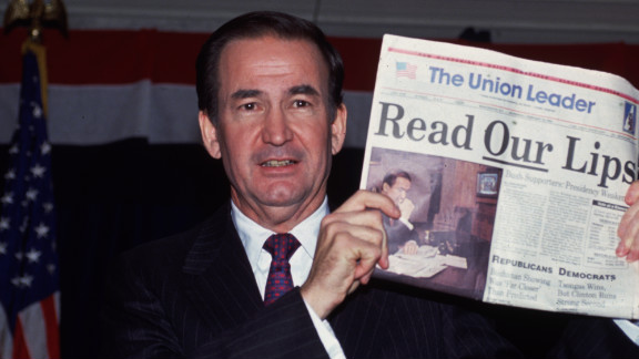 """Pat Buchanan runs for president in 1992. He would deliver his """"culture war"""" speech at the GOP convention later that year."""