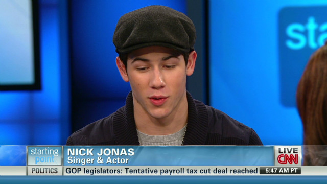Nick Jonas on living with diabetes
