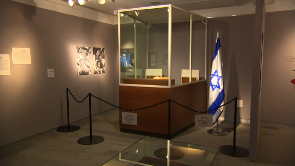 The bullet proof booth where Adolf Eichmann sat during his trial in Jerusalem. During nine months of testimony, the world was astounded by the personal testimony of 120 witnesses (99 of them Holocaust survivors).