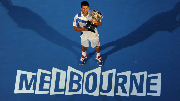Djokovic began what would be an incredible 2011 with a straight-sets win over British fifth seed Andy Murray in the Australian Open final. It was his second triumph in Melbourne.