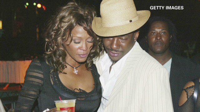 Whitney's life with Bobby Brown