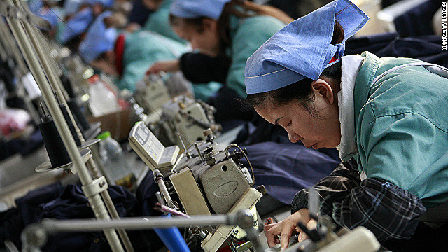 Chinese workers demand higher pay