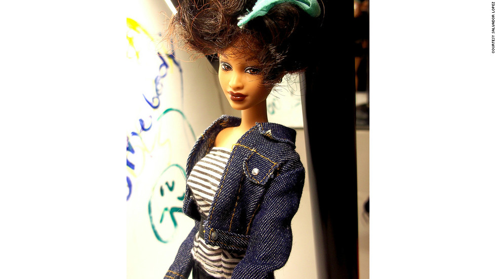 "In 2010, <a href=""http://ireport.cnn.com/docs/DOC-746892"">Salvador Lopez</a>, 22, made a doll in Houston's image. ""I was listening and dancing to Whitney's 'I Wanna Dance with Somebody' when it hit me there were not any Barbie dolls in her likeness out there ... I enjoy making my own one-of-a-kind celebrity dolls and it was only logical to add such an icon to my collection."""