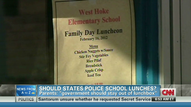 Should states regulate bagged lunch?
