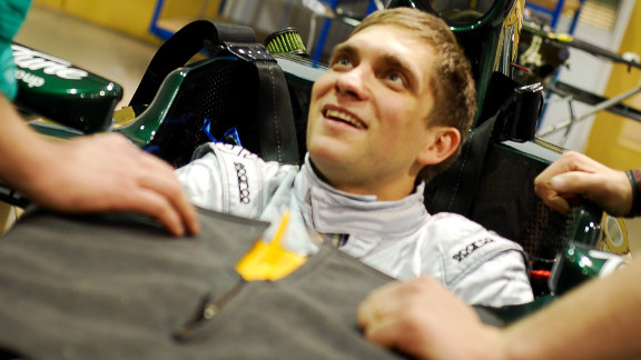 The CNN-sponsored Caterham team have revealed Russian driver Vitaly Petrov will replace Italy