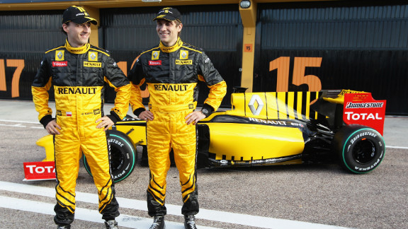 Petrov made history in 2010 when he joined Renault to become Russia