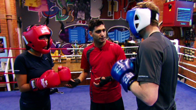 Learn the ropes of boxing with Amir Khan