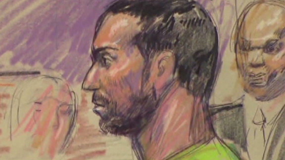 Amine El Khalifi is charged with plotting to bomb the U.S. Capitol.