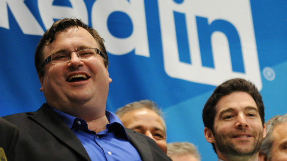 Hoffman co-founded LinkedIn, which was bought by Microsoft in 2016.