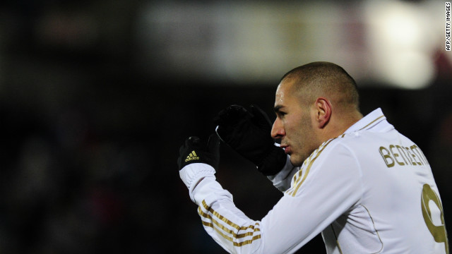 Karim Benzema scored twice in another convincing win for Real Madrid in La Liga on Saturday night.