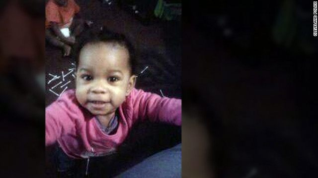 Police say Chaniya Wynn, 1, was abducted by her father while she and her mother were walking.