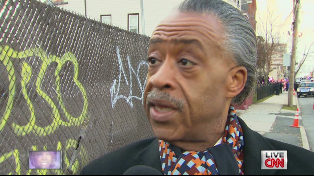 Sharpton: Houston funeral was 'dignified'