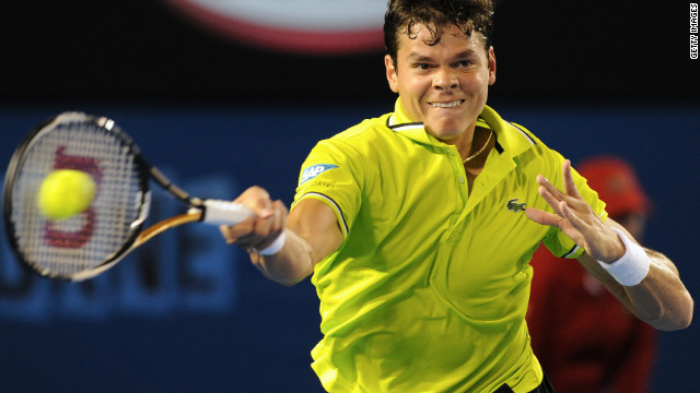 Canada's Milos Raonic successfully defending his SAP Open crown on Sunday.
