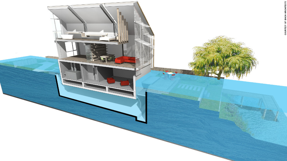 Floating House Rises To Flooding Challenge Cnn