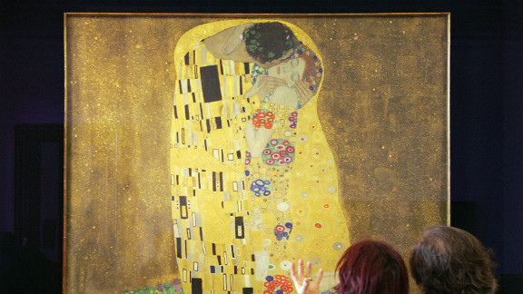 Gustav Klimt is one of Vienna