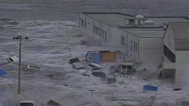 2011 Japan S Devastating Tsunami Cnn Video