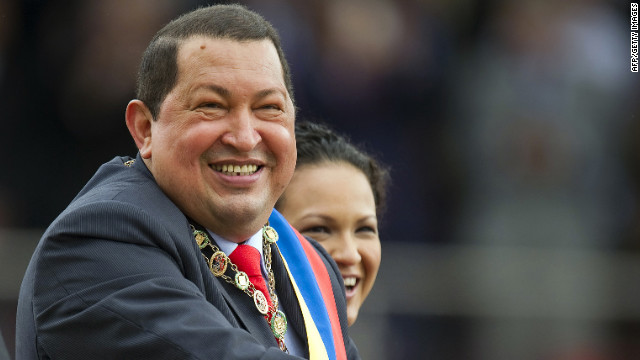Venezulan President Hugo Chavez said he was speaking out earlier than he'd planned because of the increasing speculation.