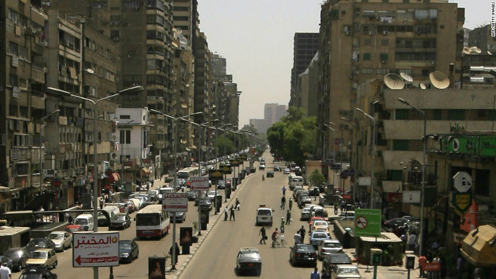 Cairo spent weeks repaving streets and cleaning buildings to prepare for Obama's speech to the Muslim world in June 2009.