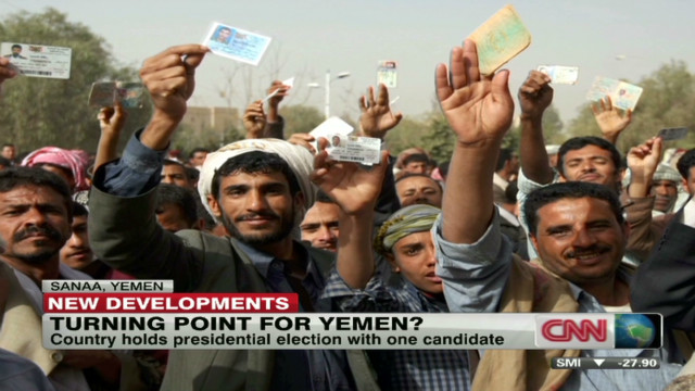 Yemen holds election with one candidate
