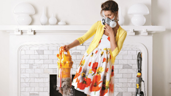 A buildup of dust  can harbor allergens and contribute to sinus infections.