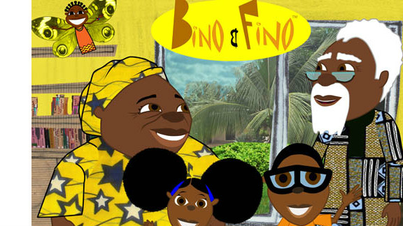 The cartoon aims to teach children about African history, languages and culture.