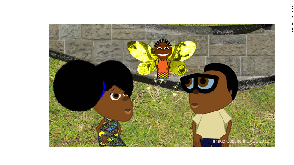 "Nigerian cartoon ""Bino and Fino"" tells the story of a brother and sister who live with their grandparents in an unnamed African city."