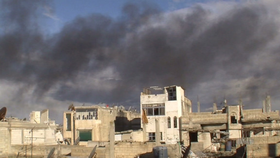 The Baba Amr neighborhood in Homs, Syria, has undergone withering attacks for days.