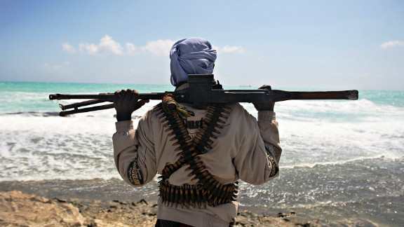 Heavily armed pirates have taken advantage of the nation