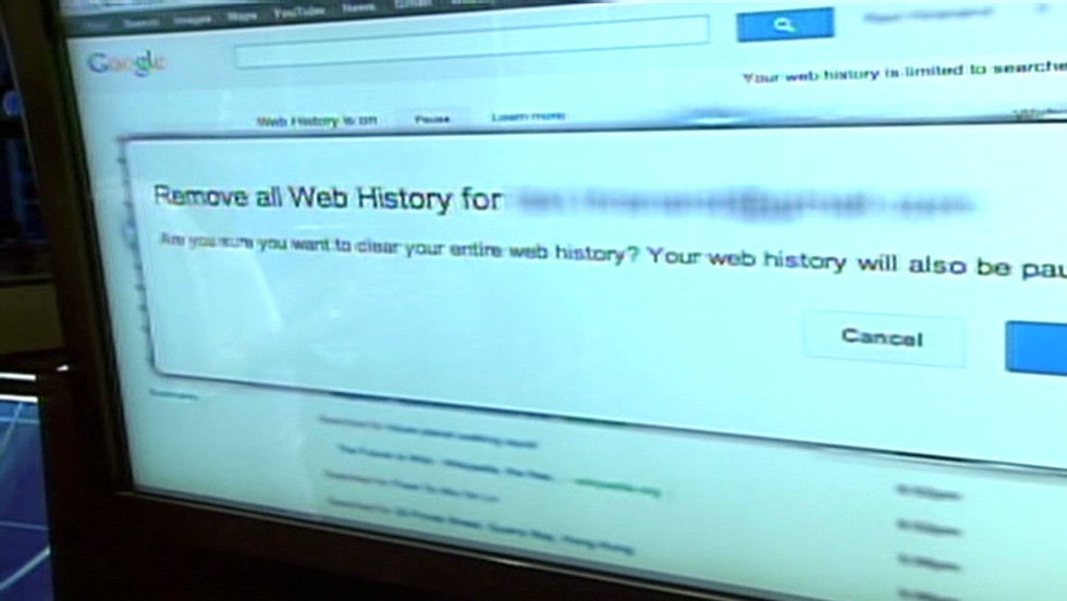 How to turn off Google's web history
